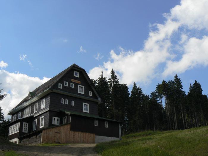 Ubytování v Orlických horách v chatě Kačenka v Deštném