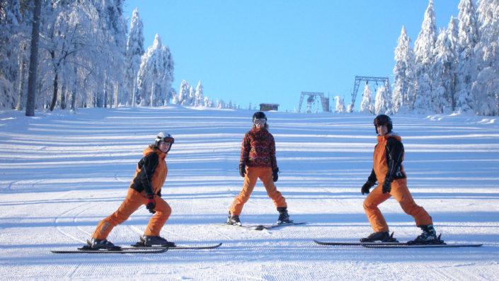 Lyžařská škola - instruktoři lyžování