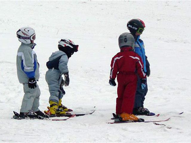 Lyžařské kurzy pro děti v Deštném v Orlických horách