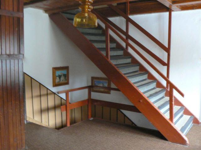 Ubytování v chatě Kačenka - schodiště