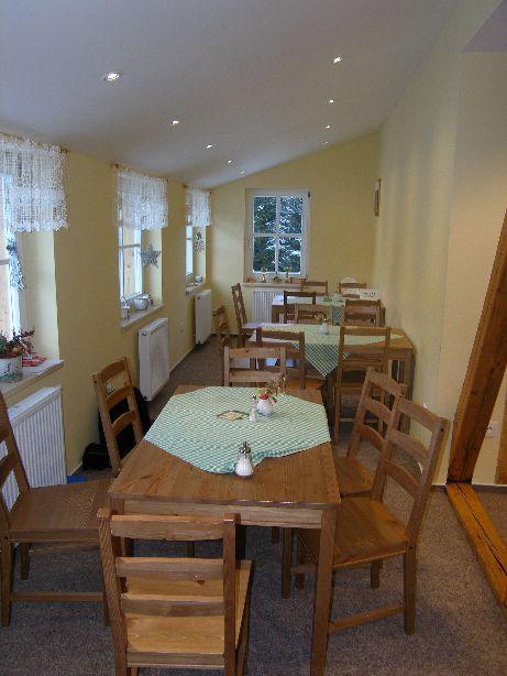 Ubytování v chatě Kačenka - jídelna a restaurace