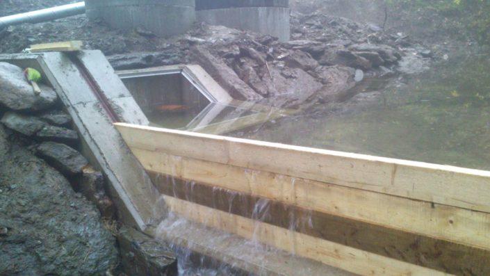Umělé zasněžování Šerlišský mlýn - stavba 2016